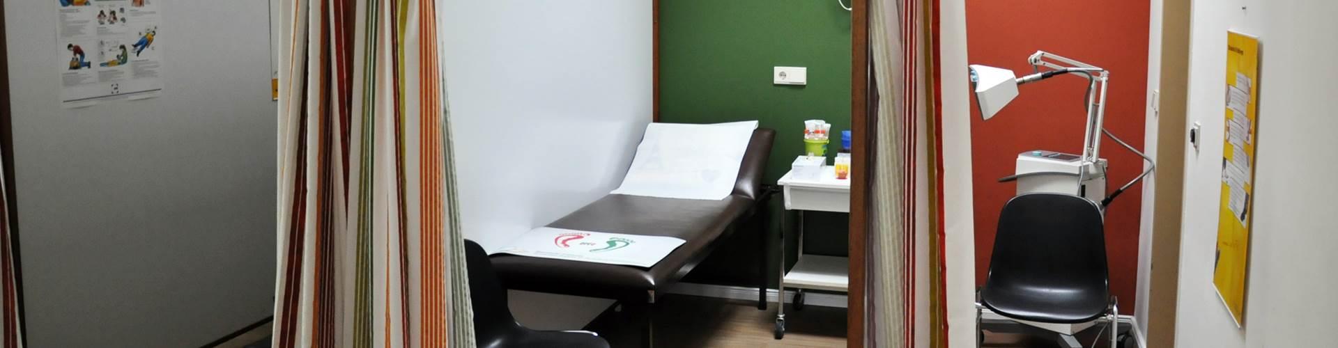 Arztpraxis Wankendorf Behandlungsräume